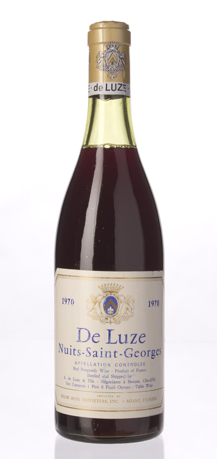 A. de Luze et Fils Nuits St. Georges 1970, 750mL () from The BPW - Merchants of rare and fine wines.