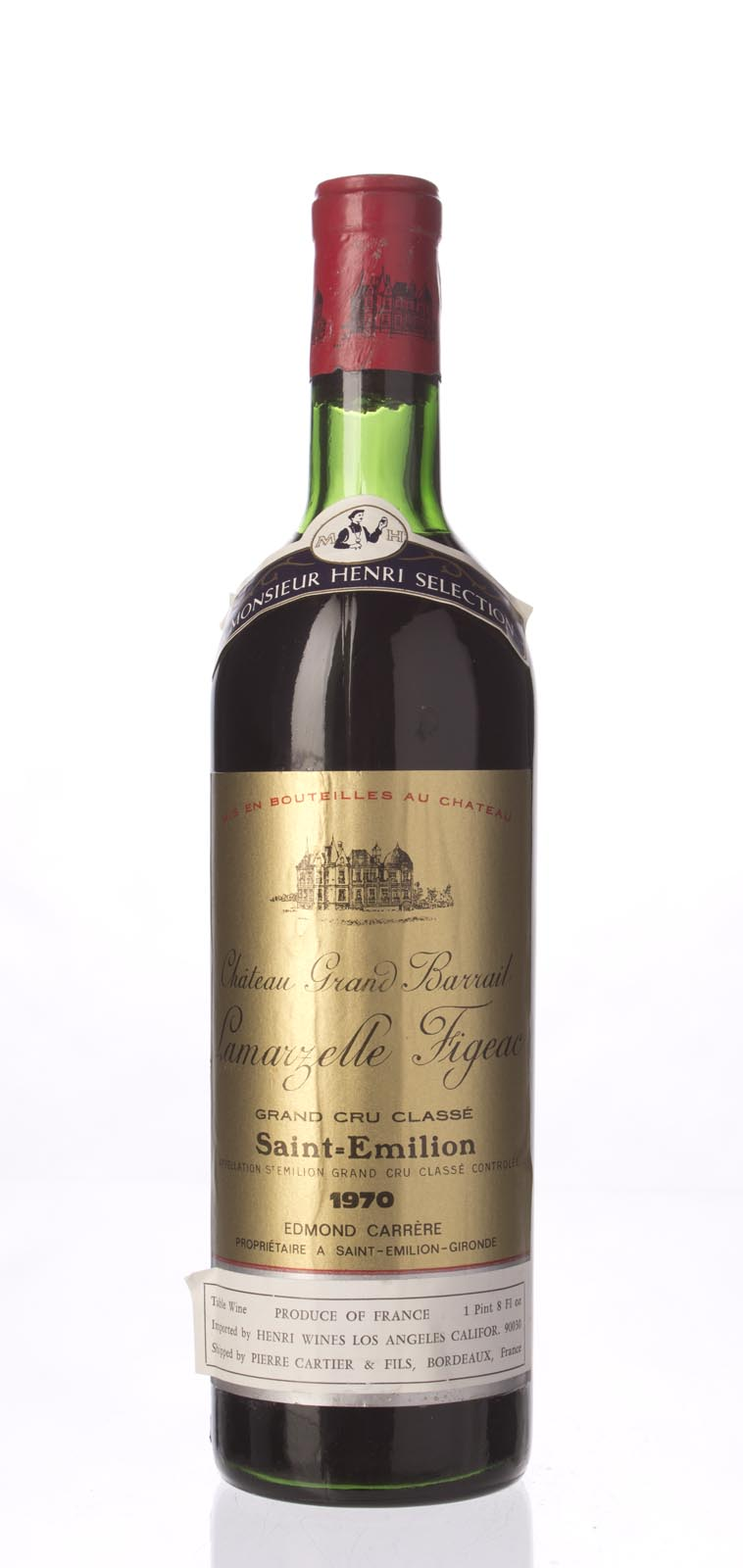Grand Barrail Lamarzelle Figeac 1970,  () from The BPW - Merchants of rare and fine wines.