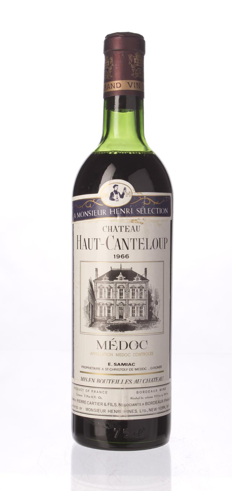 Haut Canteloup 1966, 750mL () from The BPW - Merchants of rare and fine wines.