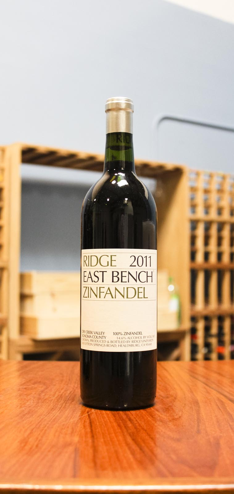 Ridge Zinfandel East Bench 2011, 750mL () from The BPW - Merchants of rare and fine wines.