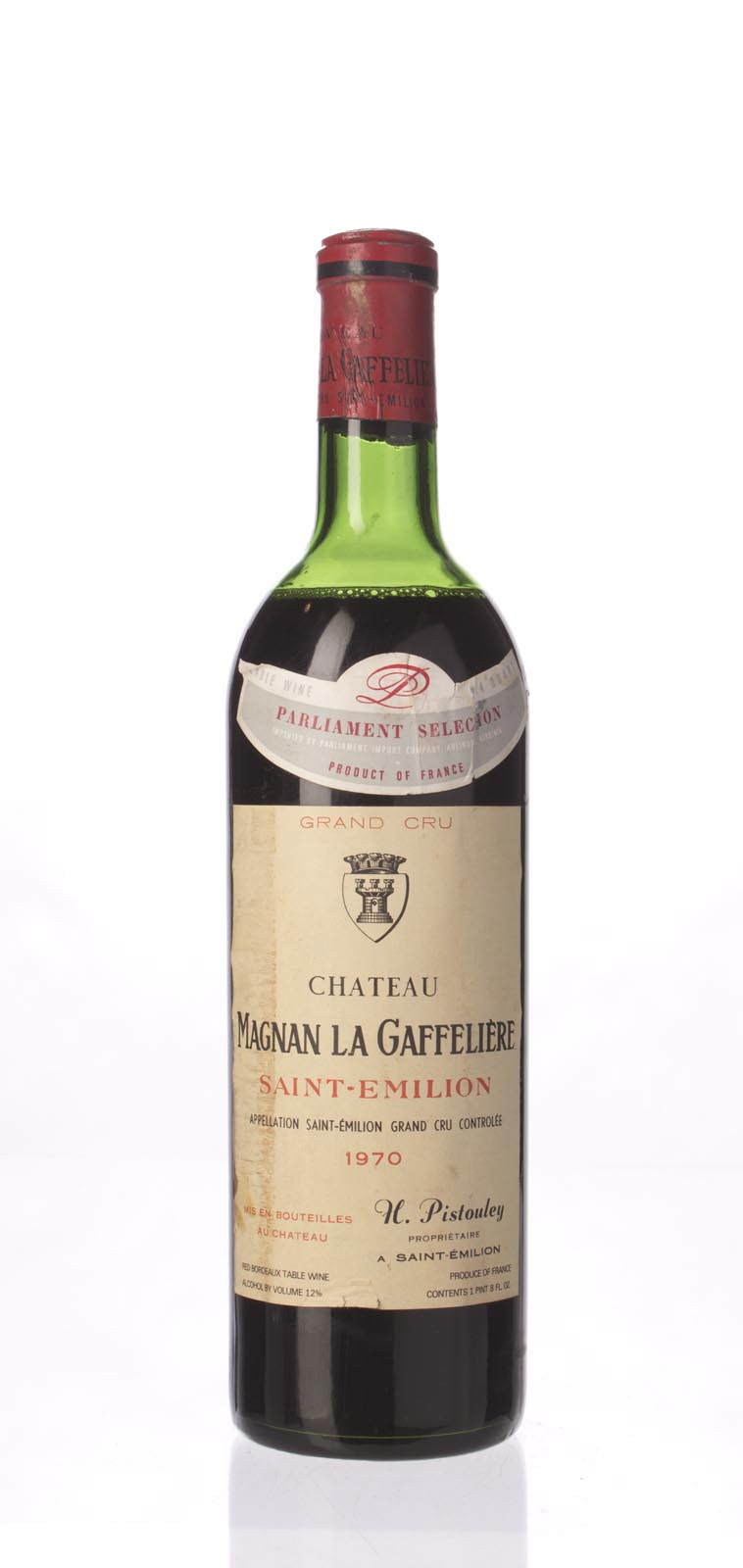 Magnan la Gaffeliere 1970, 750mL () from The BPW - Merchants of rare and fine wines.