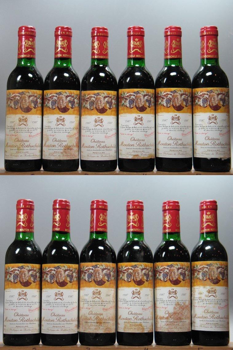 Mouton Rothschild (24 Bottle OWC) 375mL 1987, 375ml (WA88) from The BPW - Merchants of rare and fine wines.
