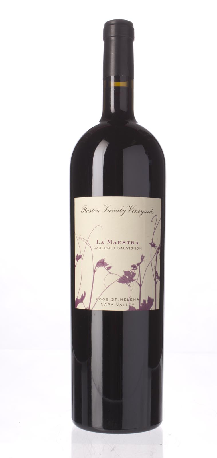 Ruston Family Vineyards La Maestra 2008, 1.5L () from The BPW - Merchants of rare and fine wines.