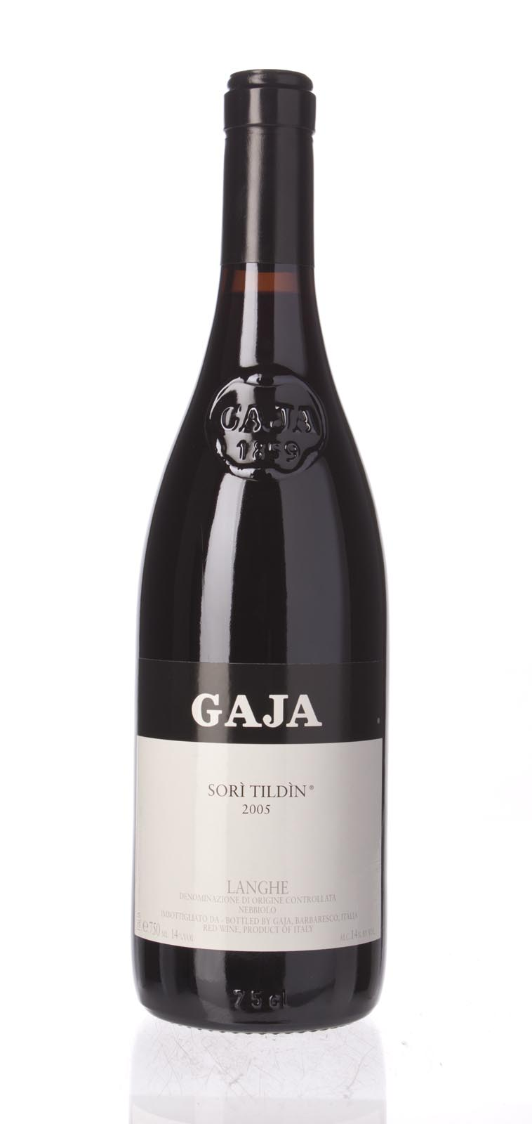 Gaja Sori Tildin 2005, 750ml (WA95, WS96) from The BPW - Merchants of rare and fine wines.