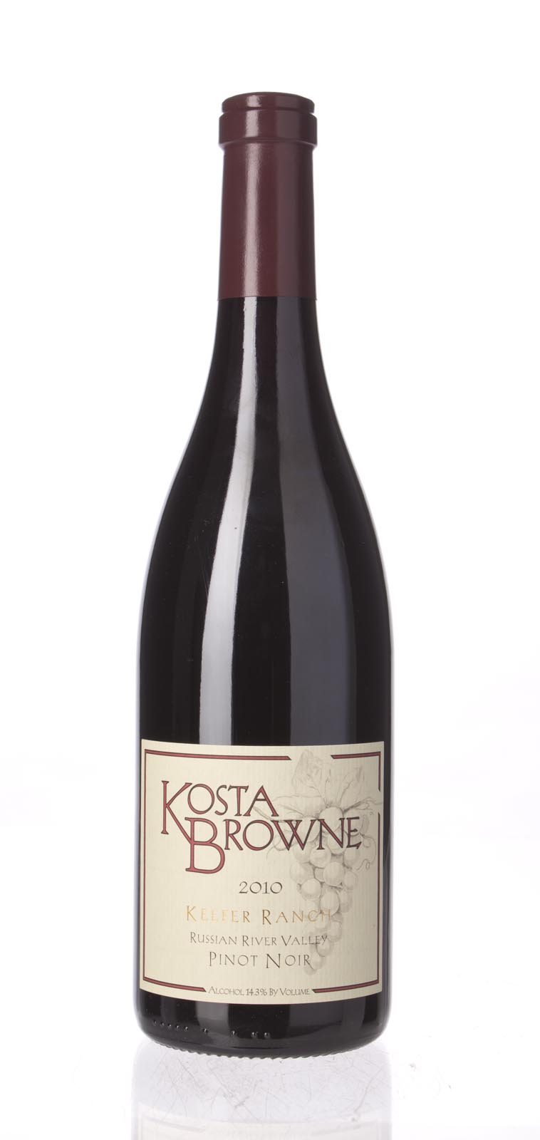 Kosta Browne Pinot Noir Keefer Ranch 2010, 750mL (ST93, WS93) from The BPW - Merchants of rare and fine wines.