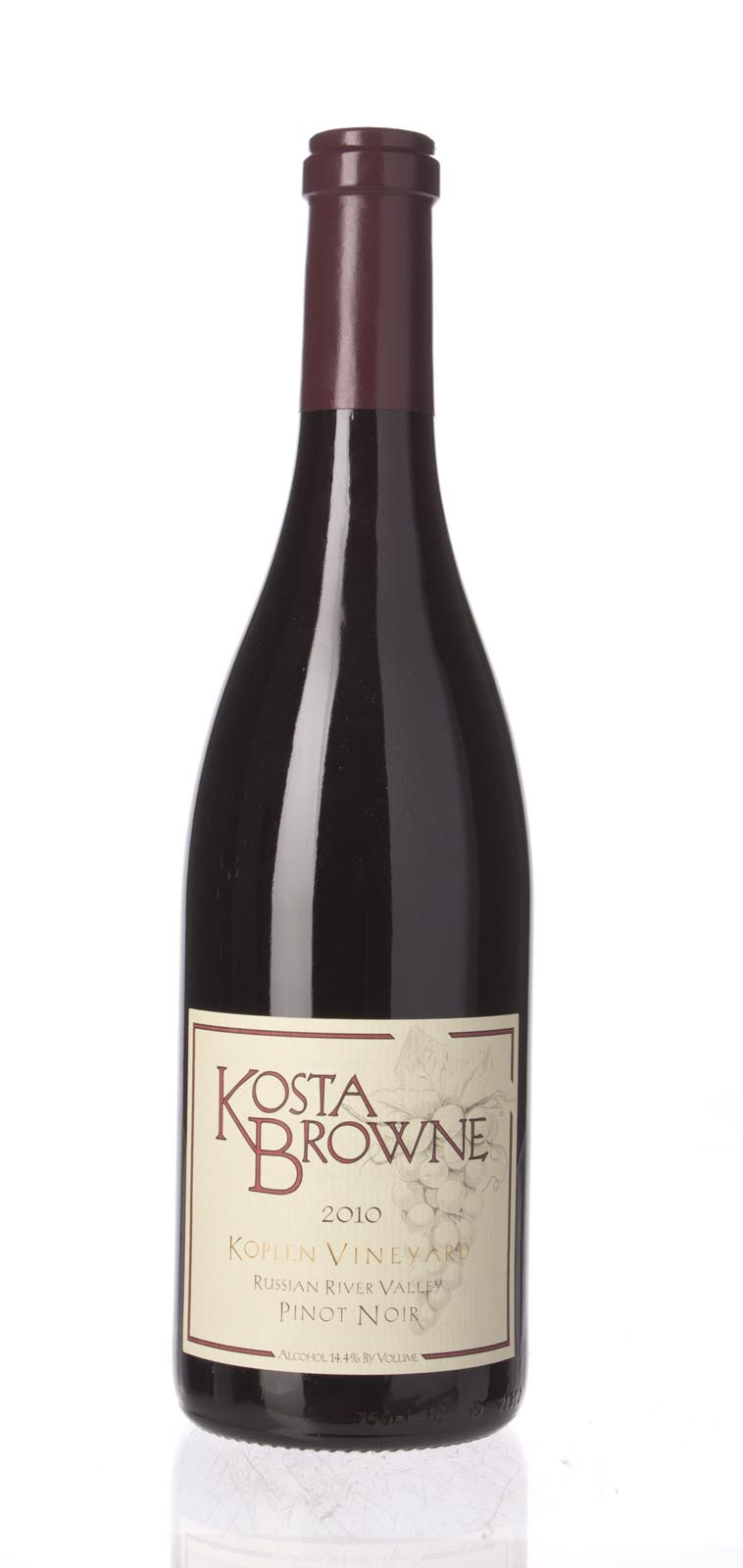 Kosta Browne Pinot Noir Koplen Vineyard 2010, 750mL (ST92, WS92) from The BPW - Merchants of rare and fine wines.