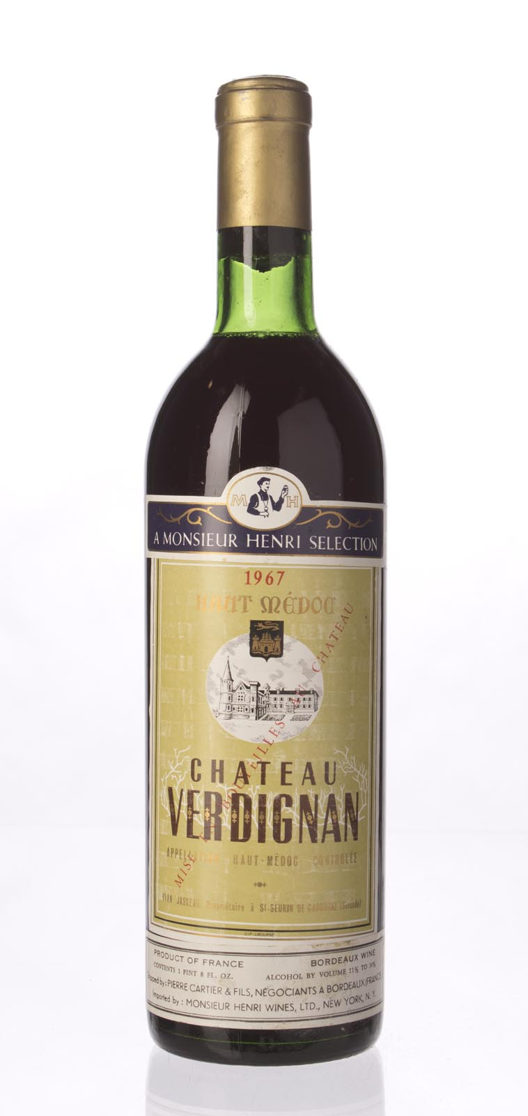 Verdignan 1967, 750mL () from The BPW - Merchants of rare and fine wines.