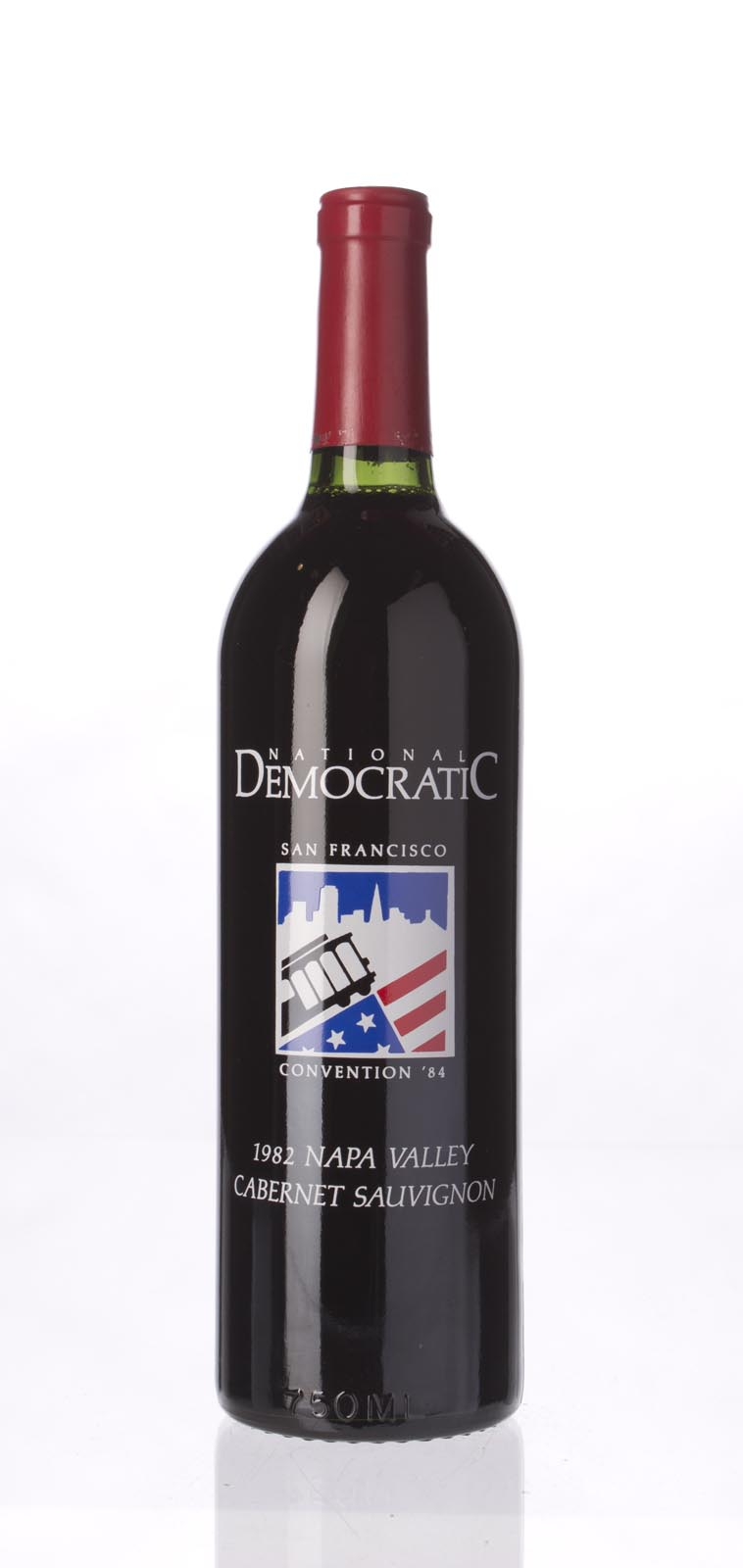 Vineyard Wine Cellars Cabernet Sauvignon National Democratic Convention 1984 1982,  () from The BPW - Merchants of rare and fine wines.