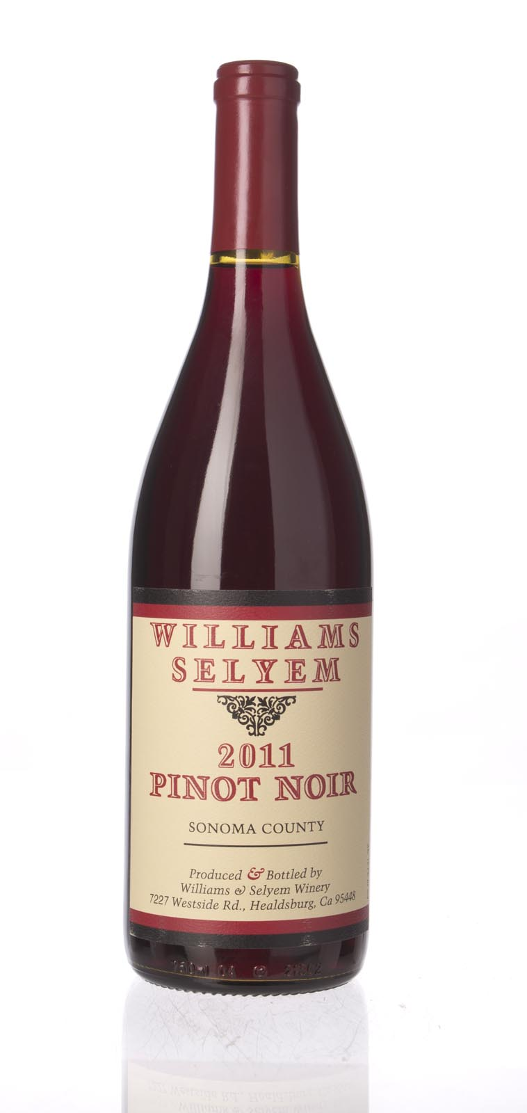 Williams Selyem Pinot Noir Sonoma County 2011, 750mL () from The BPW - Merchants of rare and fine wines.