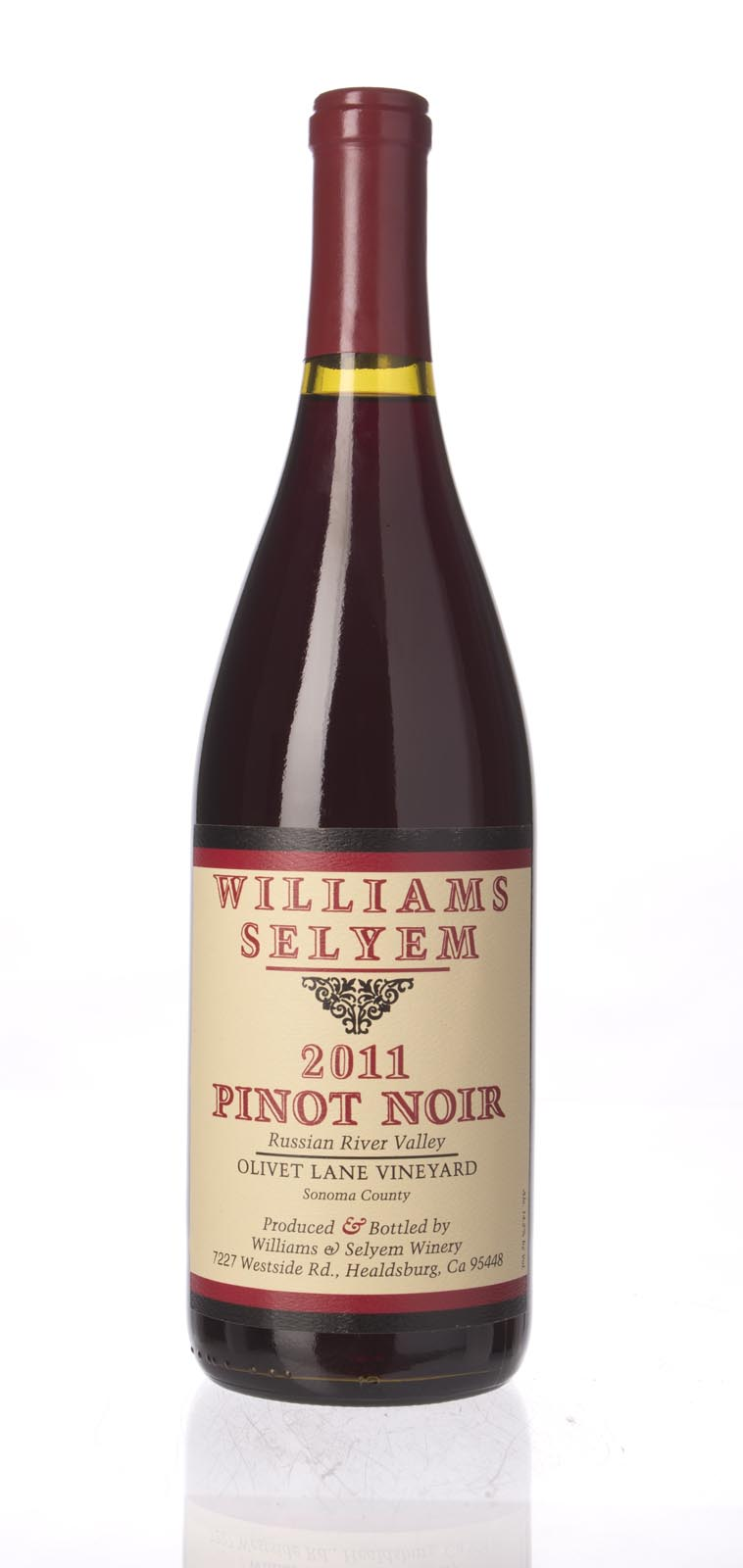 Williams Selyem Pinot Noir Olivet Lane 2011, 750mL () from The BPW - Merchants of rare and fine wines.