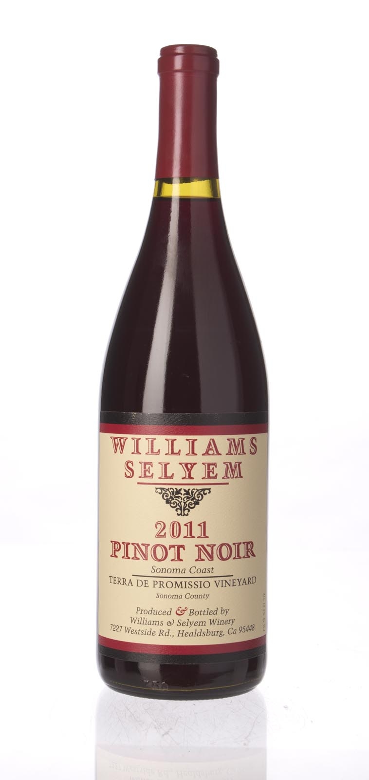 Williams Selyem Pinot Noir Terra de Promissio Vineyard 2011, 750mL () from The BPW - Merchants of rare and fine wines.