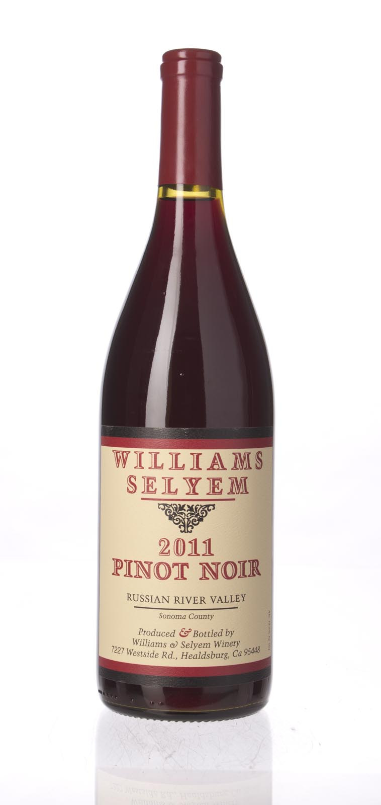 Williams Selyem Pinot Noir Russian River Valley 2011, 750mL () from The BPW - Merchants of rare and fine wines.