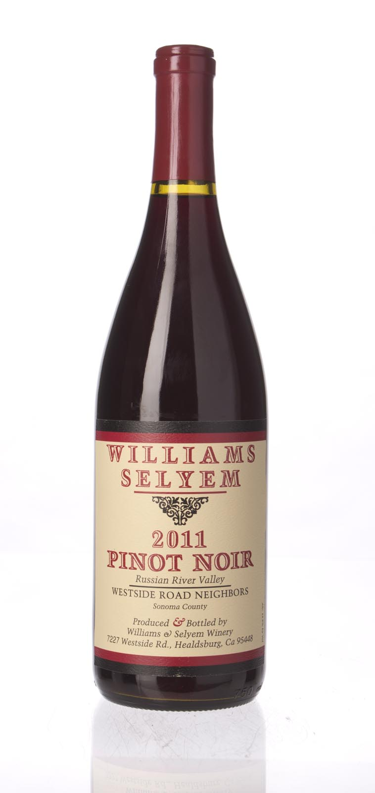 Williams Selyem Pinot Noir Westside Road Neighbors 2011, 750mL () from The BPW - Merchants of rare and fine wines.