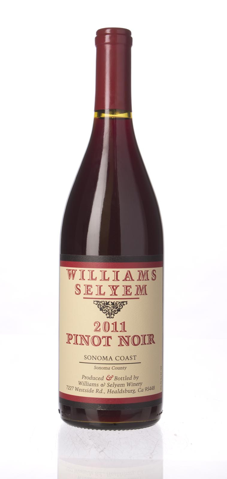 Williams Selyem Pinot Noir Sonoma Coast 2011, 750mL () from The BPW - Merchants of rare and fine wines.