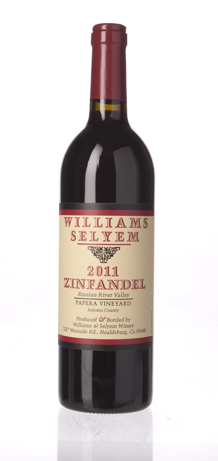 Williams Selyem Zinfandel Papera Vineyard 2011, 750mL () from The BPW - Merchants of rare and fine wines.