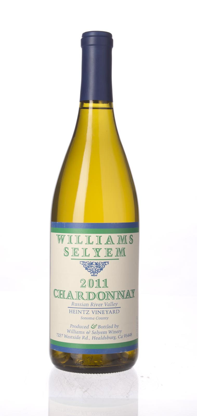 Williams Selyem Chardonnay Heintz Vineyard 2011, 750mL () from The BPW - Merchants of rare and fine wines.