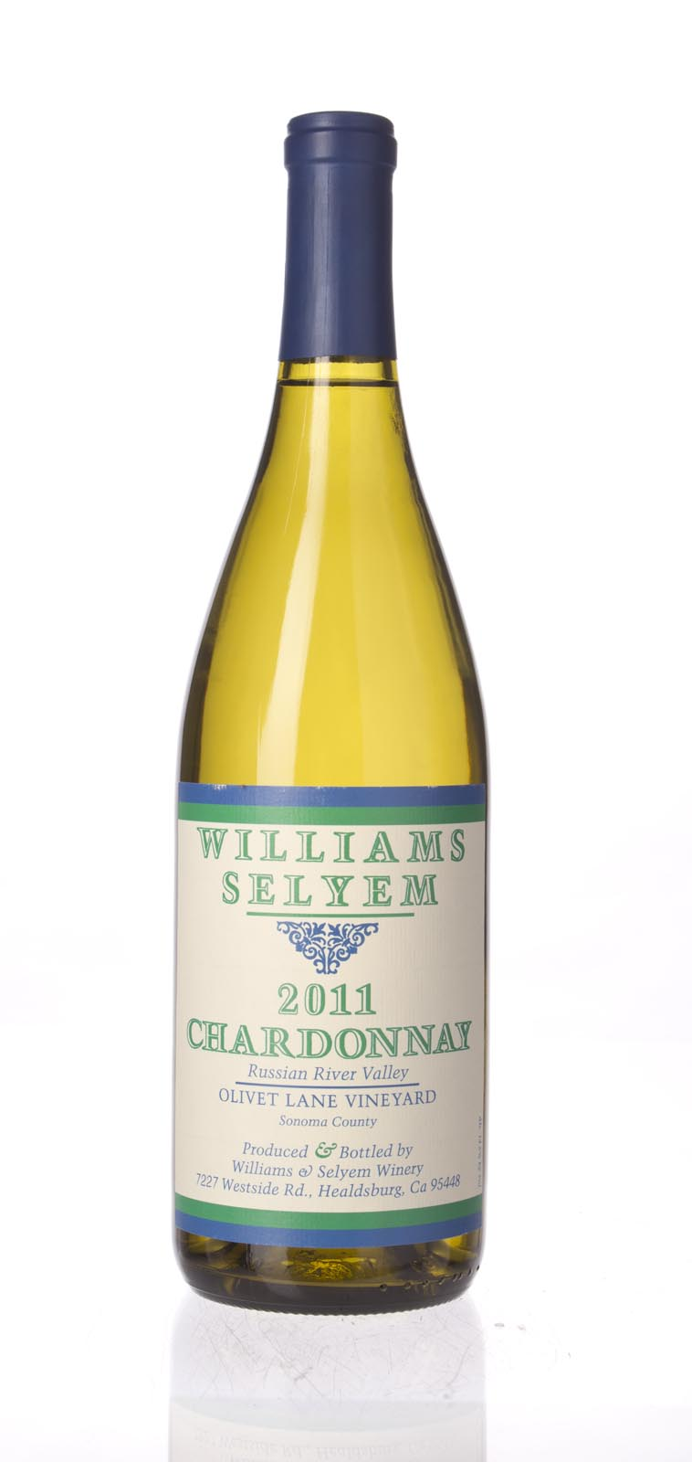 Williams Selyem Chardonnay Olivet Lane 2011, 750mL () from The BPW - Merchants of rare and fine wines.