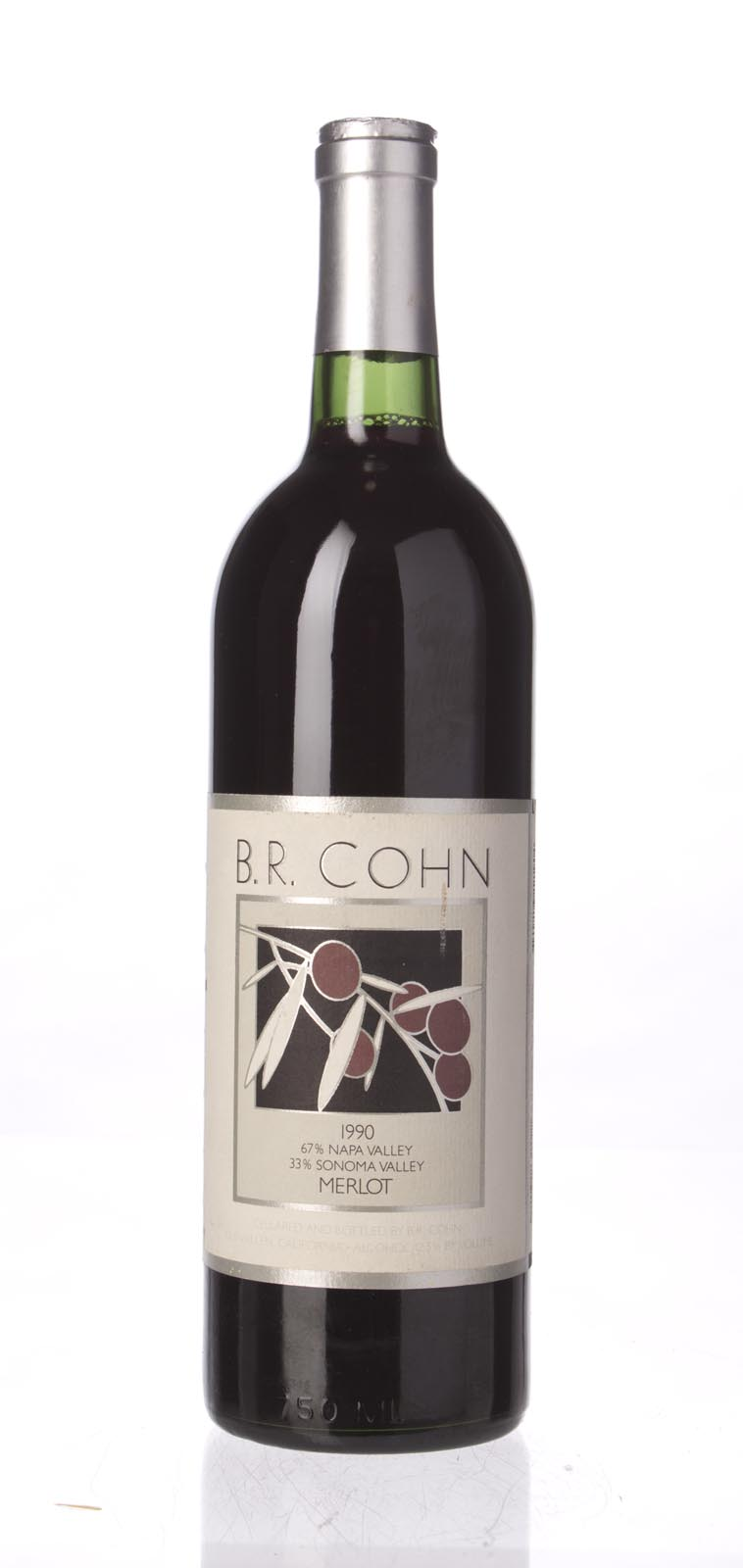 B.R. Cohn Merlot 1990, 750mL () from The BPW - Merchants of rare and fine wines.