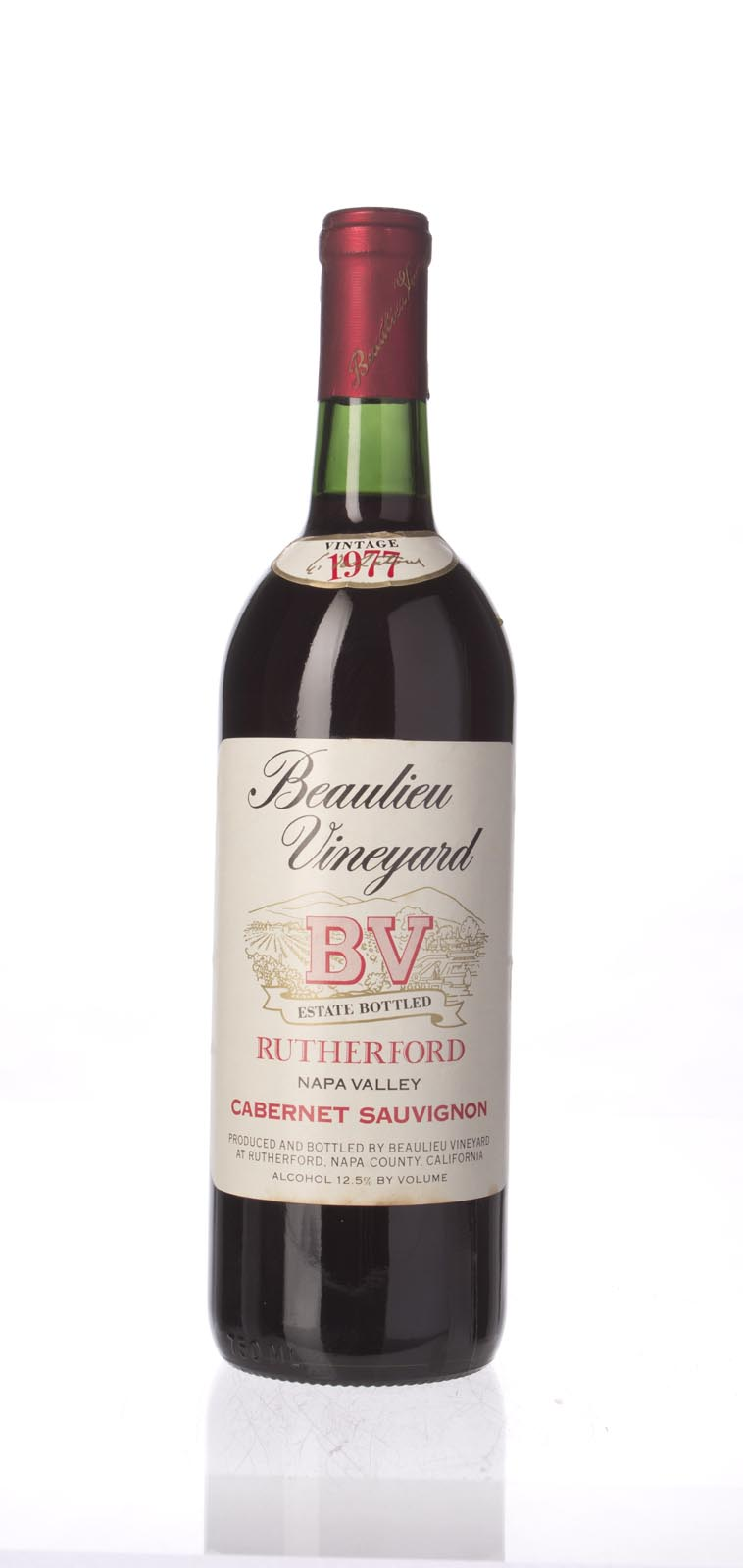 Beaulieu Vineyard Cabernet Sauvignon Rutherford 1977, 750mL () from The BPW - Merchants of rare and fine wines.