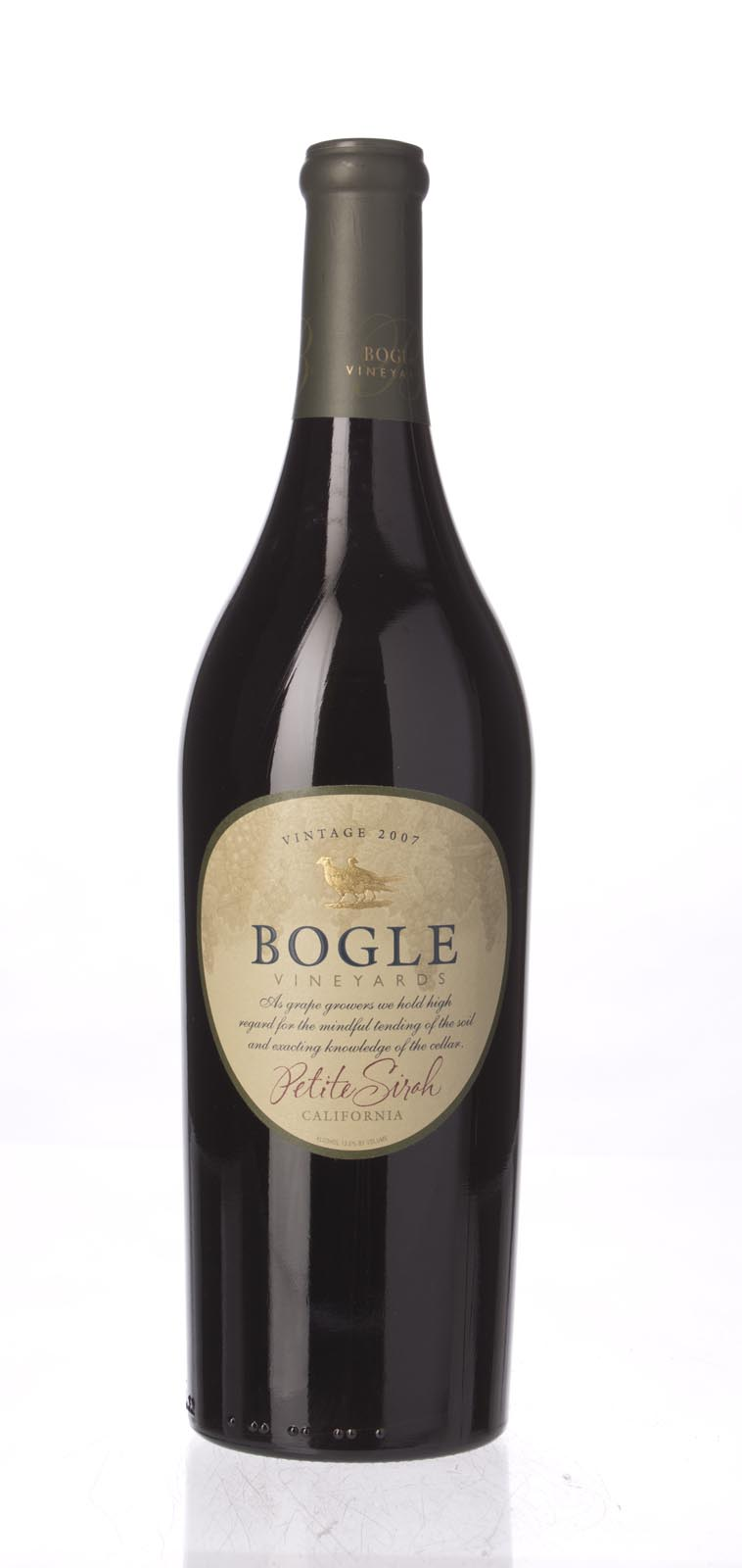 Bogle Vineyards Petite Sirah 2007, 750mL () from The BPW - Merchants of rare and fine wines.