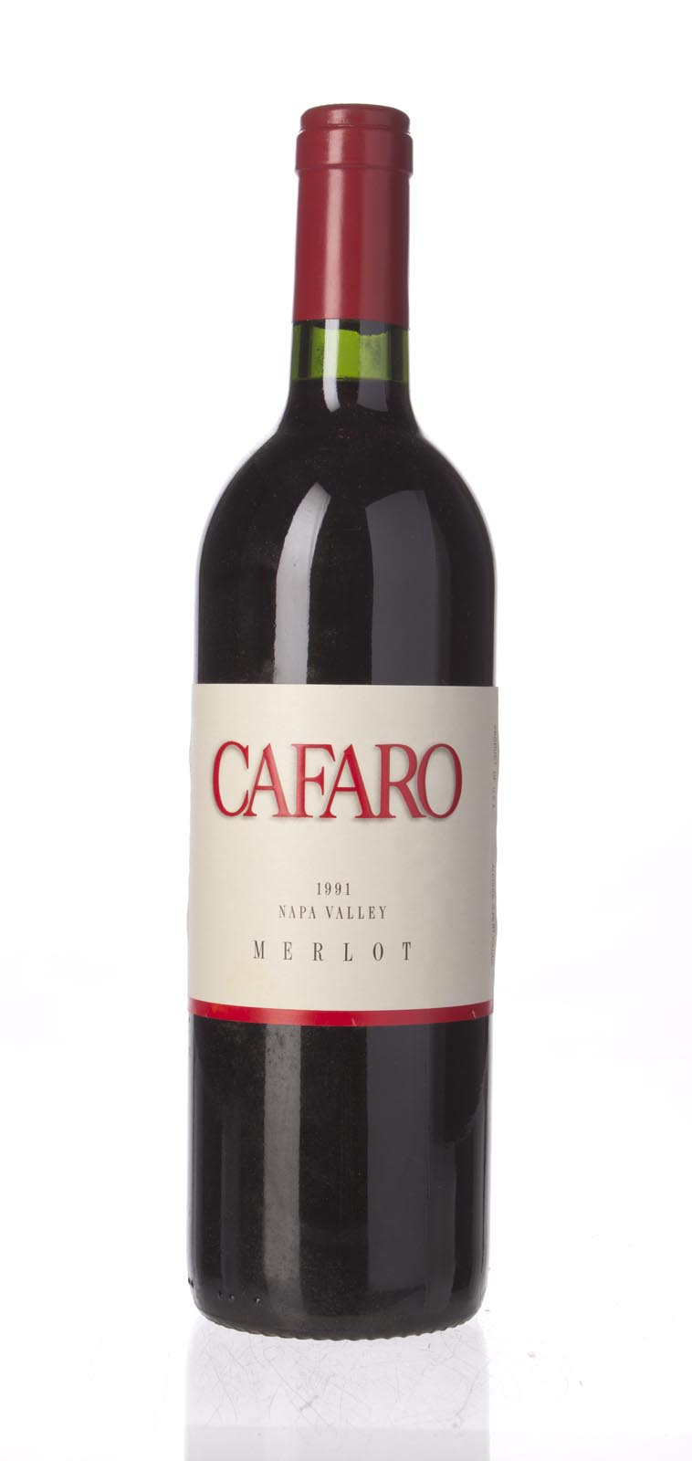 Cafaro Merlot 1991, 750mL () from The BPW - Merchants of rare and fine wines.