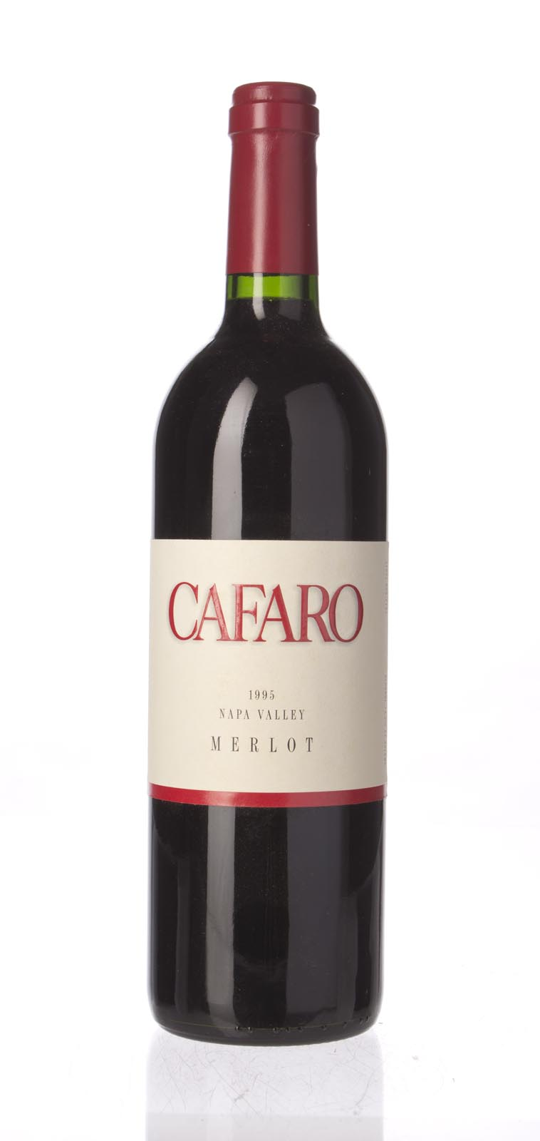 Cafaro Merlot 1995, 750mL () from The BPW - Merchants of rare and fine wines.