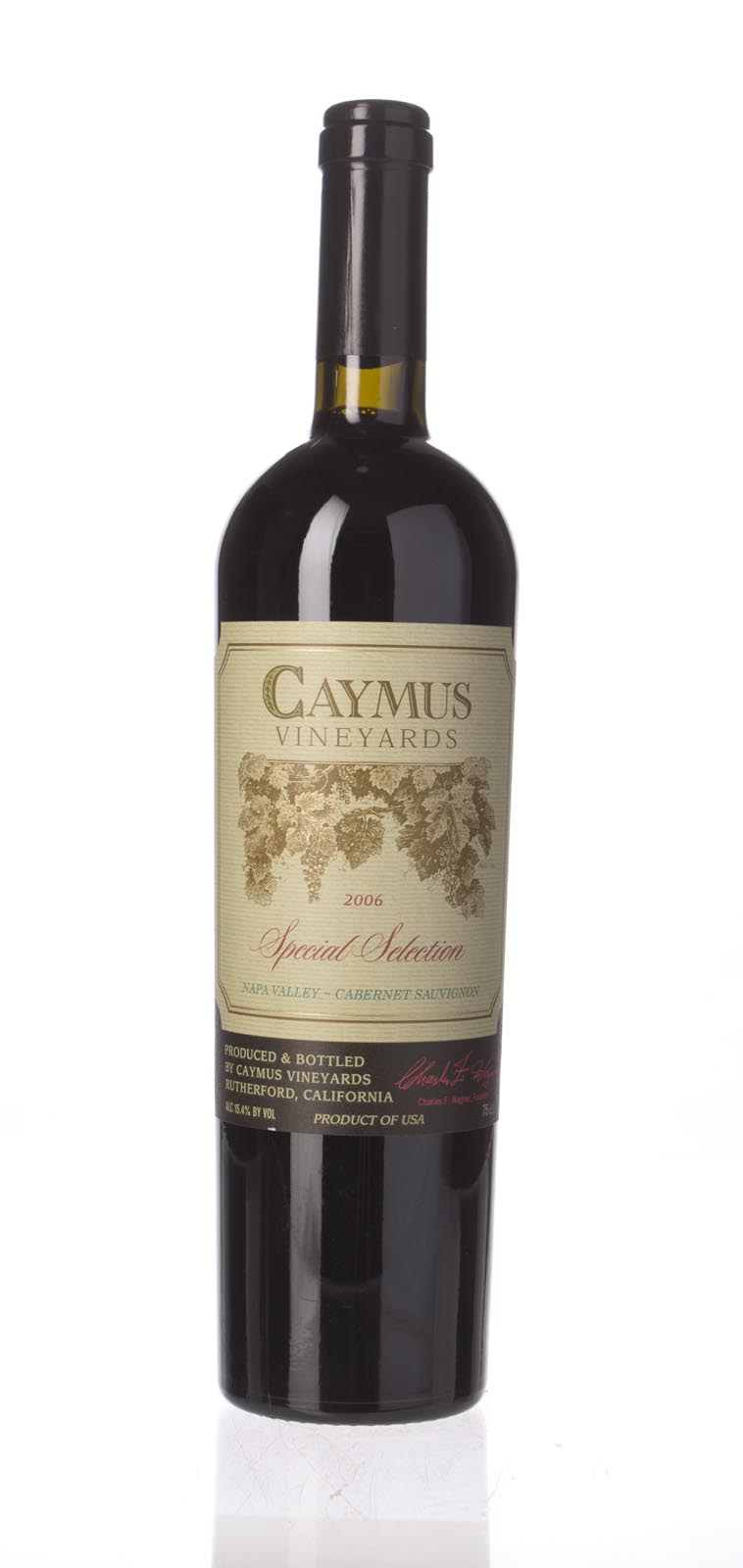 Caymus Cabernet Sauvignon Special Selection 2006, 750mL (JS94, WS94) from The BPW - Merchants of rare and fine wines.