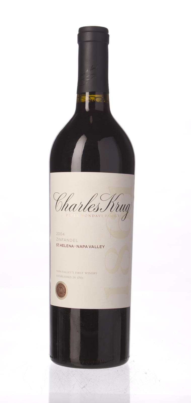 Charles Krug Zinfandel Napa Valley 2004, 750mL () from The BPW - Merchants of rare and fine wines.