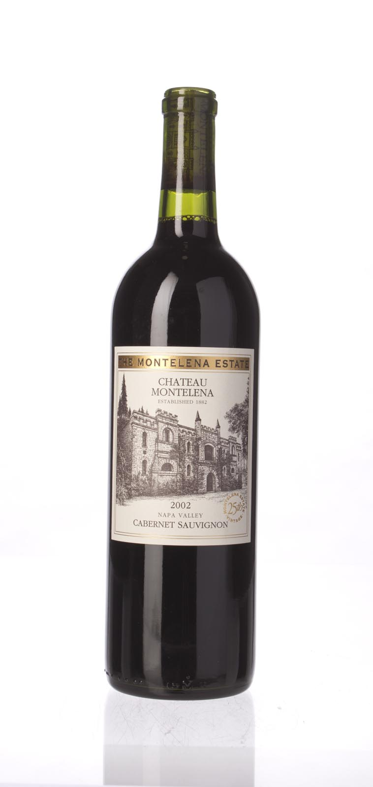 Chateau Montelena Cabernet Sauvignon Montelena Estate 2002, 750mL (WA96+) from The BPW - Merchants of rare and fine wines.