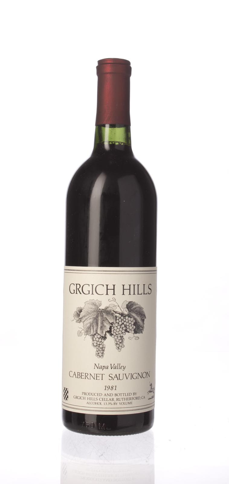 Grgich Hills Cabernet Sauvignon Napa Valley 1981, 750mL () from The BPW - Merchants of rare and fine wines.