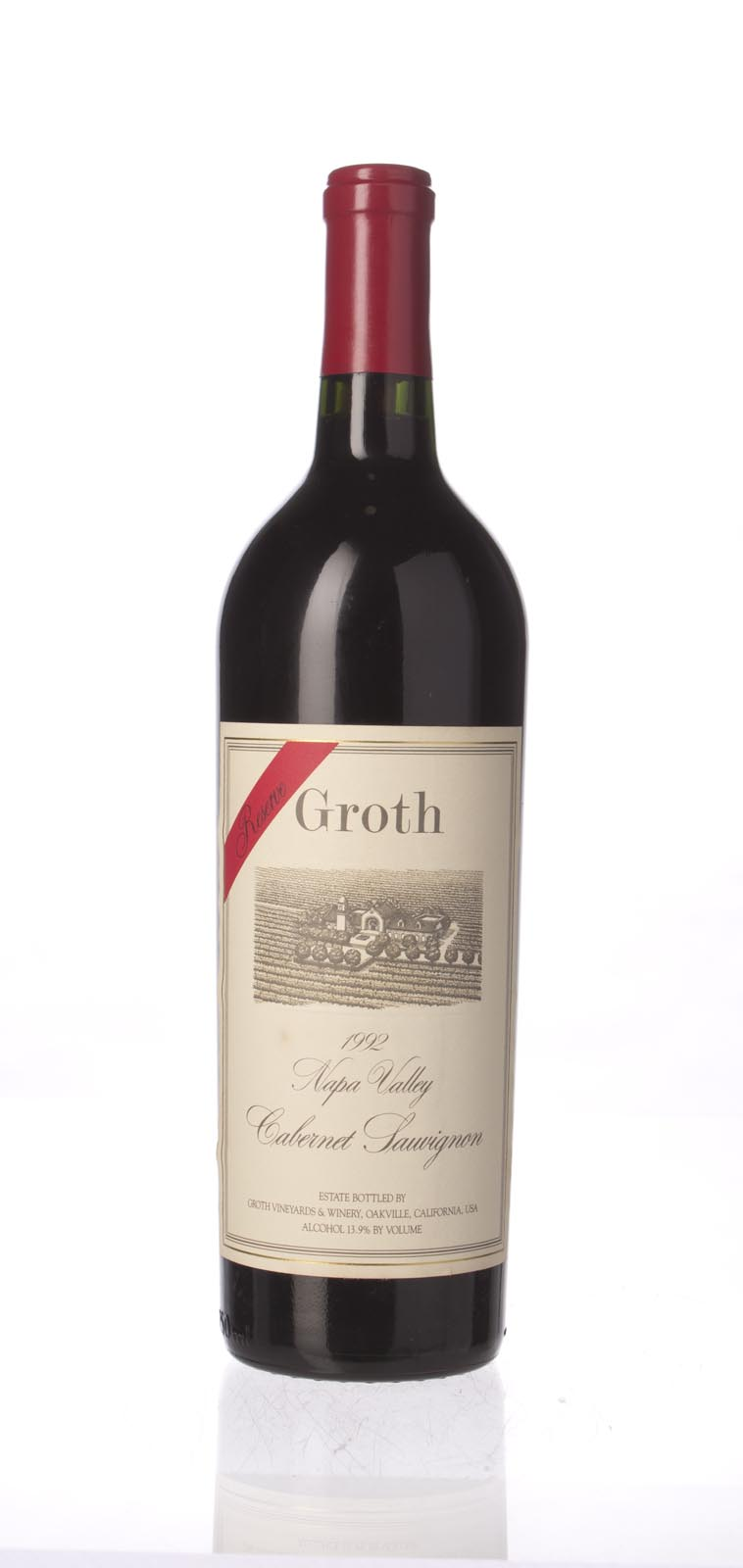 Groth Vineyards Cabernet Sauvignon Reserve 1992, 750mL (WS98) from The BPW - Merchants of rare and fine wines.