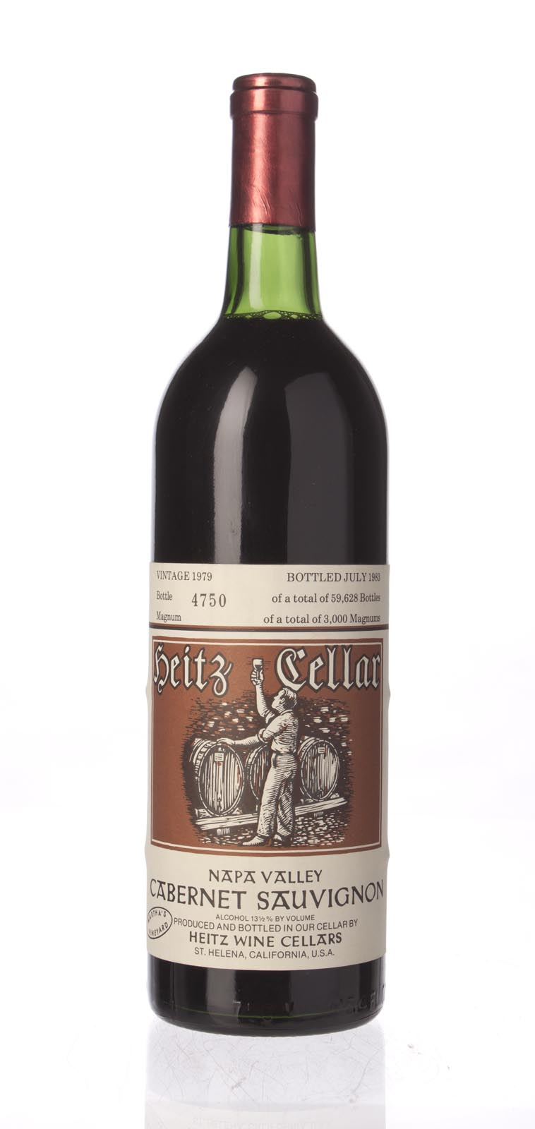 Heitz Cabernet Sauvignon Martha`s Vineyard 1979, 750mL (WS94) from The BPW - Merchants of rare and fine wines.