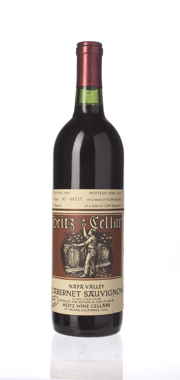 Heitz Cabernet Sauvignon Martha`s Vineyard 1991, 750mL (WS93) from The BPW - Merchants of rare and fine wines.