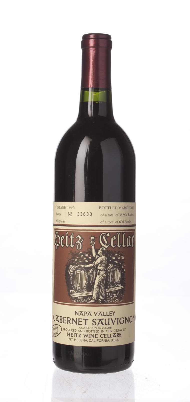 Heitz Cabernet Sauvignon Martha`s Vineyard 1996, 750mL (WS93) from The BPW - Merchants of rare and fine wines.