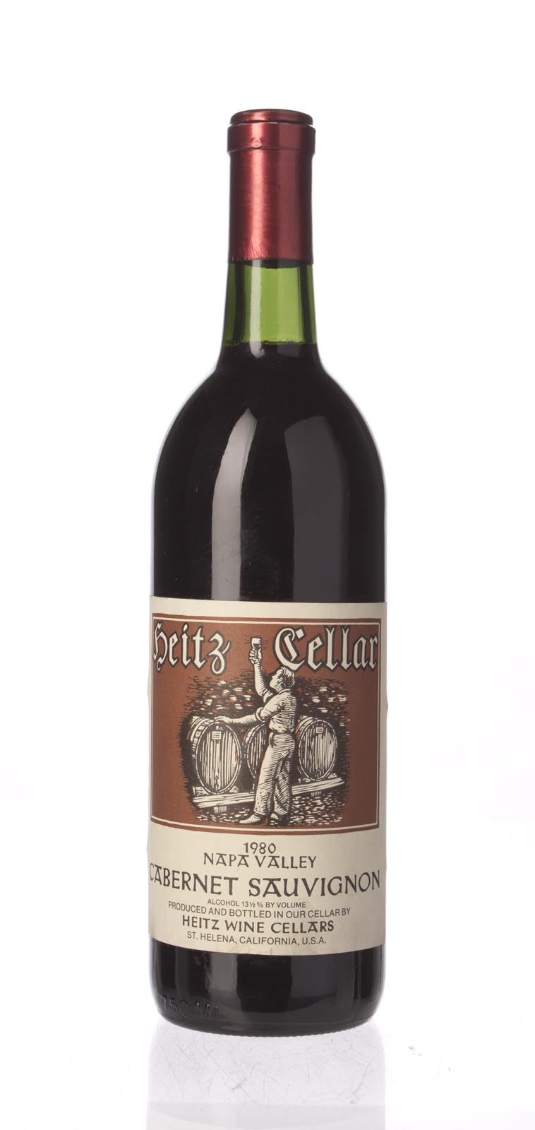 Heitz Cabernet Sauvignon Napa Valley 1980, 750mL () from The BPW - Merchants of rare and fine wines.