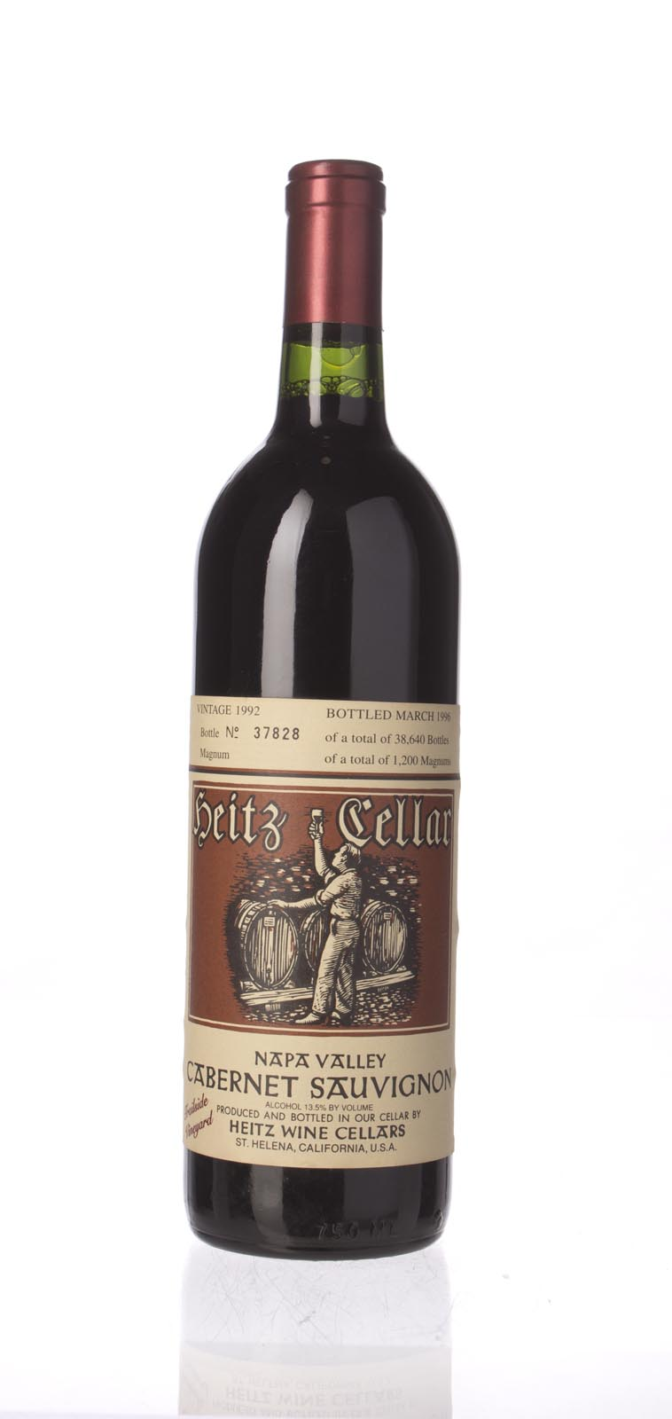 Heitz Cabernet Sauvignon Trailside Vineyard 1992, 750mL () from The BPW - Merchants of rare and fine wines.