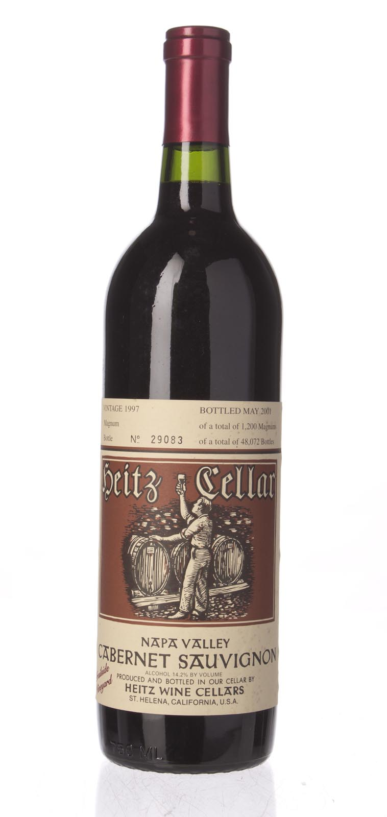 Heitz Cabernet Sauvignon Trailside Vineyard 1997, 750mL (WS92) from The BPW - Merchants of rare and fine wines.