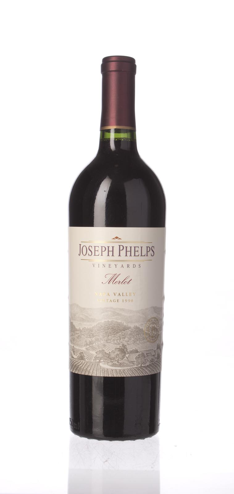 Joseph Phelps Merlot Napa Valley 1998, 750mL () from The BPW - Merchants of rare and fine wines.