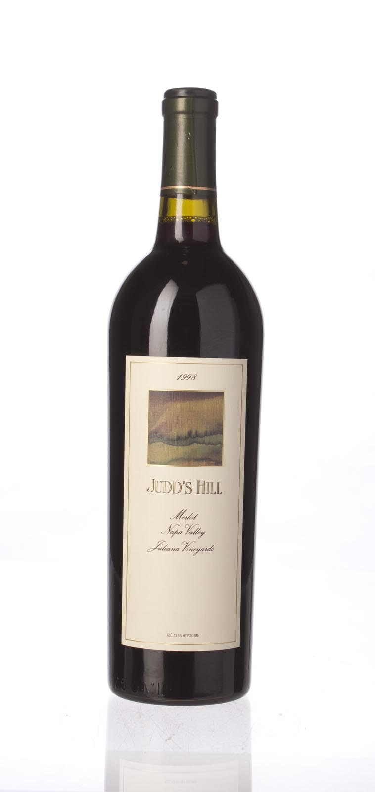 Judd`s Hill Merlot Julianna Vineyard 1998, 750mL () from The BPW - Merchants of rare and fine wines.