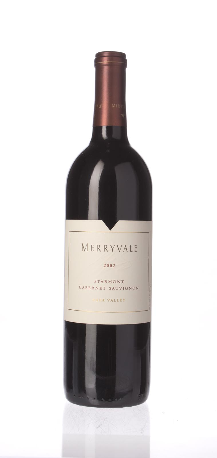 Merryvale Vineyards Cabernet Sauvignon Starmont 2002, 750mL () from The BPW - Merchants of rare and fine wines.