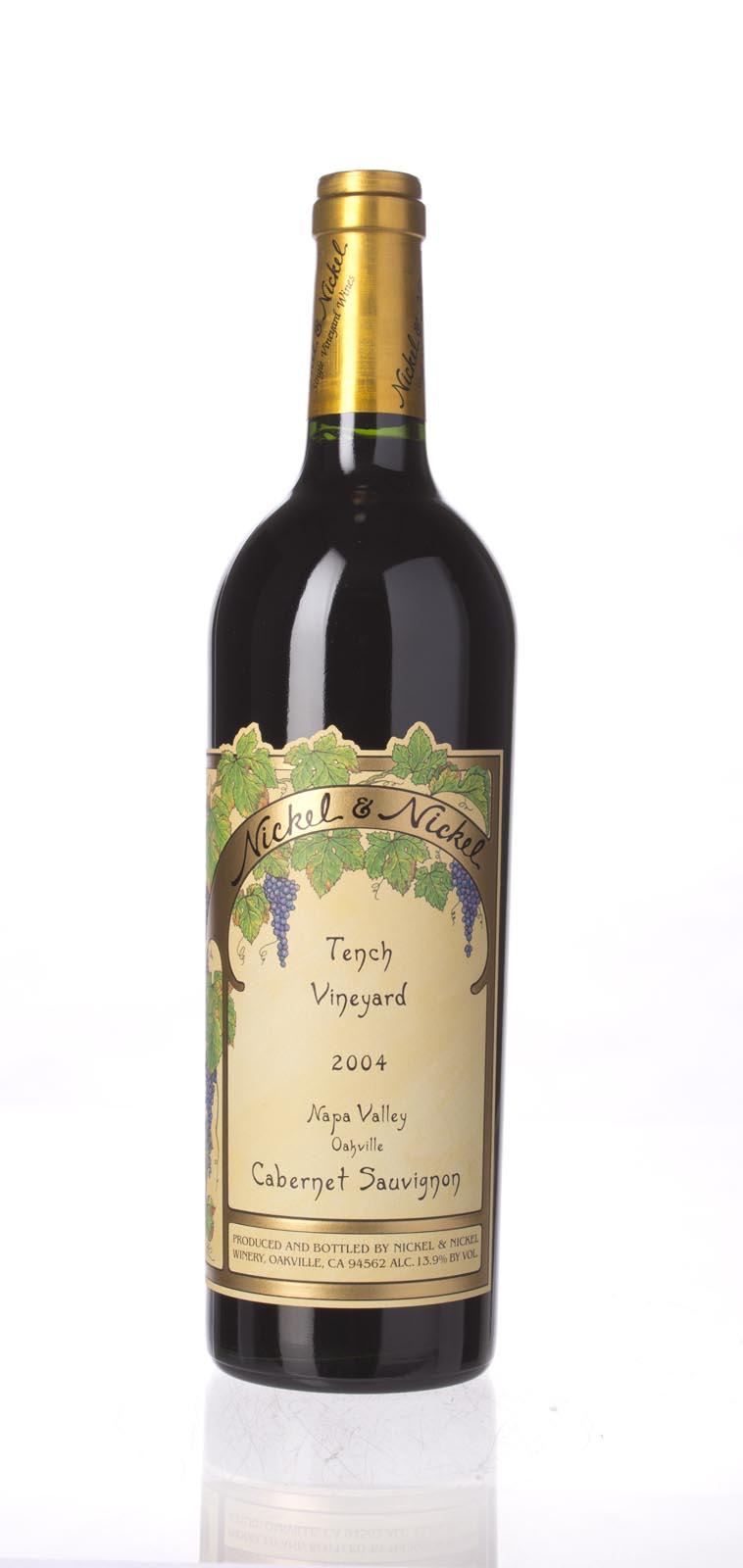 Nickel & Nickel Cabernet Sauvignon Tench Vineyard 2004, 750mL () from The BPW - Merchants of rare and fine wines.