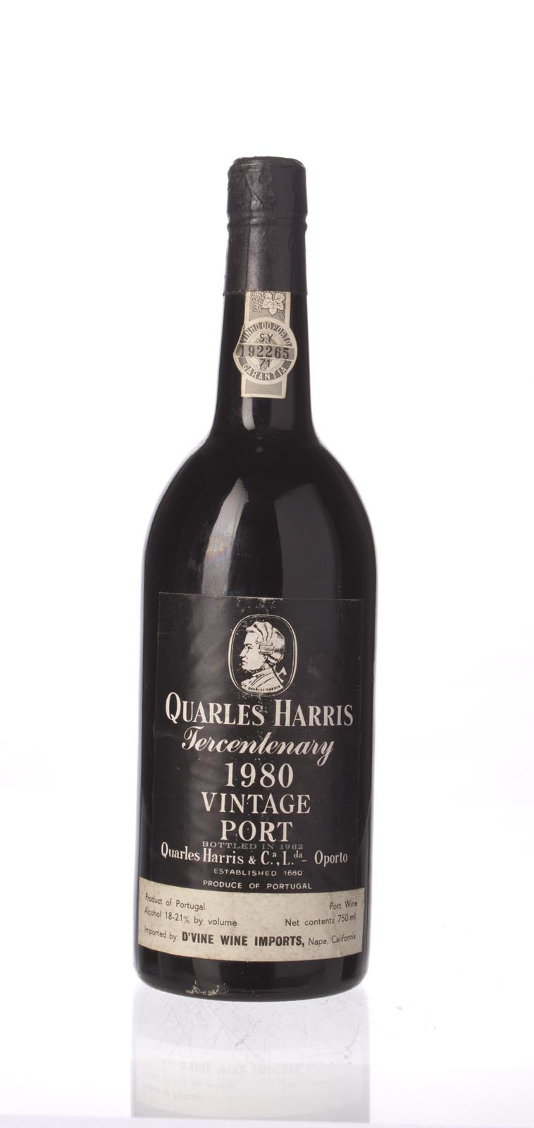 Quarles Harris Vintage Port 1980, 750mL () from The BPW - Merchants of rare and fine wines.