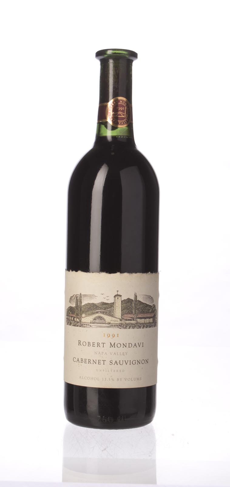 Robert Mondavi Cabernet Sauvignon Napa Valley 1991, 750mL (WA90) from The BPW - Merchants of rare and fine wines.