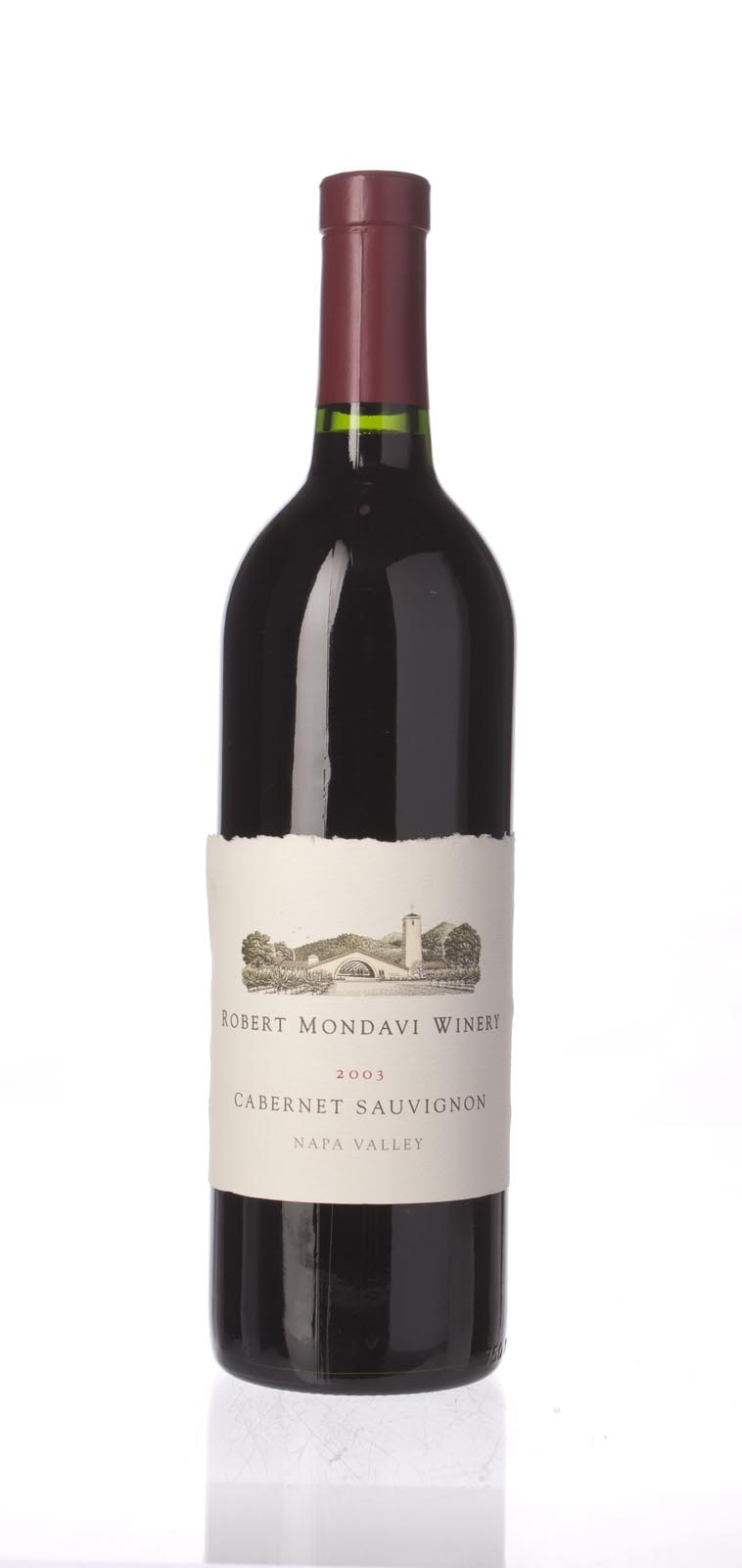 Robert Mondavi Cabernet Sauvignon Napa Valley 2003, 750mL (WA90) from The BPW - Merchants of rare and fine wines.