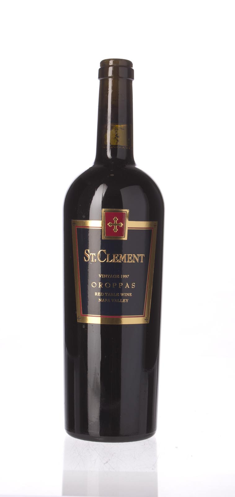St. Clement Proprietary Red Oroppas 1997, 750mL (WS92) from The BPW - Merchants of rare and fine wines.