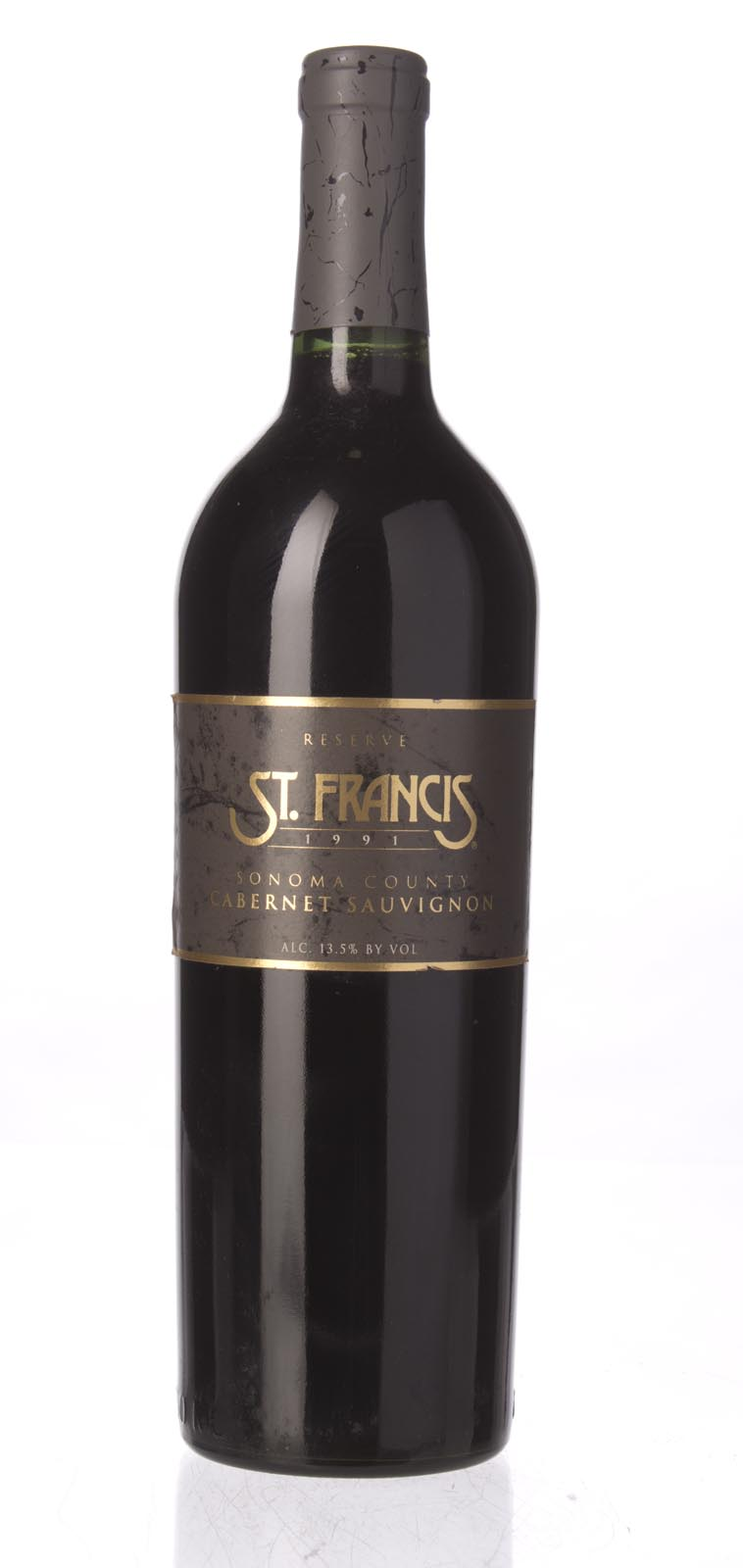 St. Francis Cabernet Sauvignon Reserve 1991, 750mL (WA88) from The BPW - Merchants of rare and fine wines.