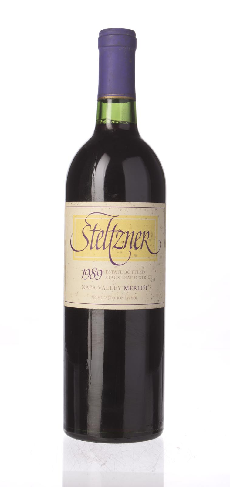 Steltzner Merlot 1989, 750mL () from The BPW - Merchants of rare and fine wines.