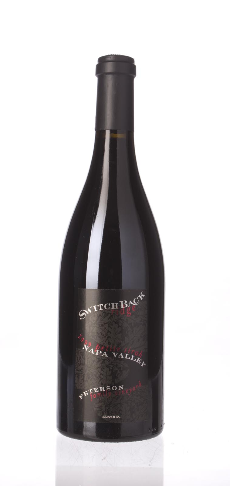Switchback Ridge Petite Sirah Peterson Family Vineyard 1999, 750mL (WA91, WS92) from The BPW - Merchants of rare and fine wines.