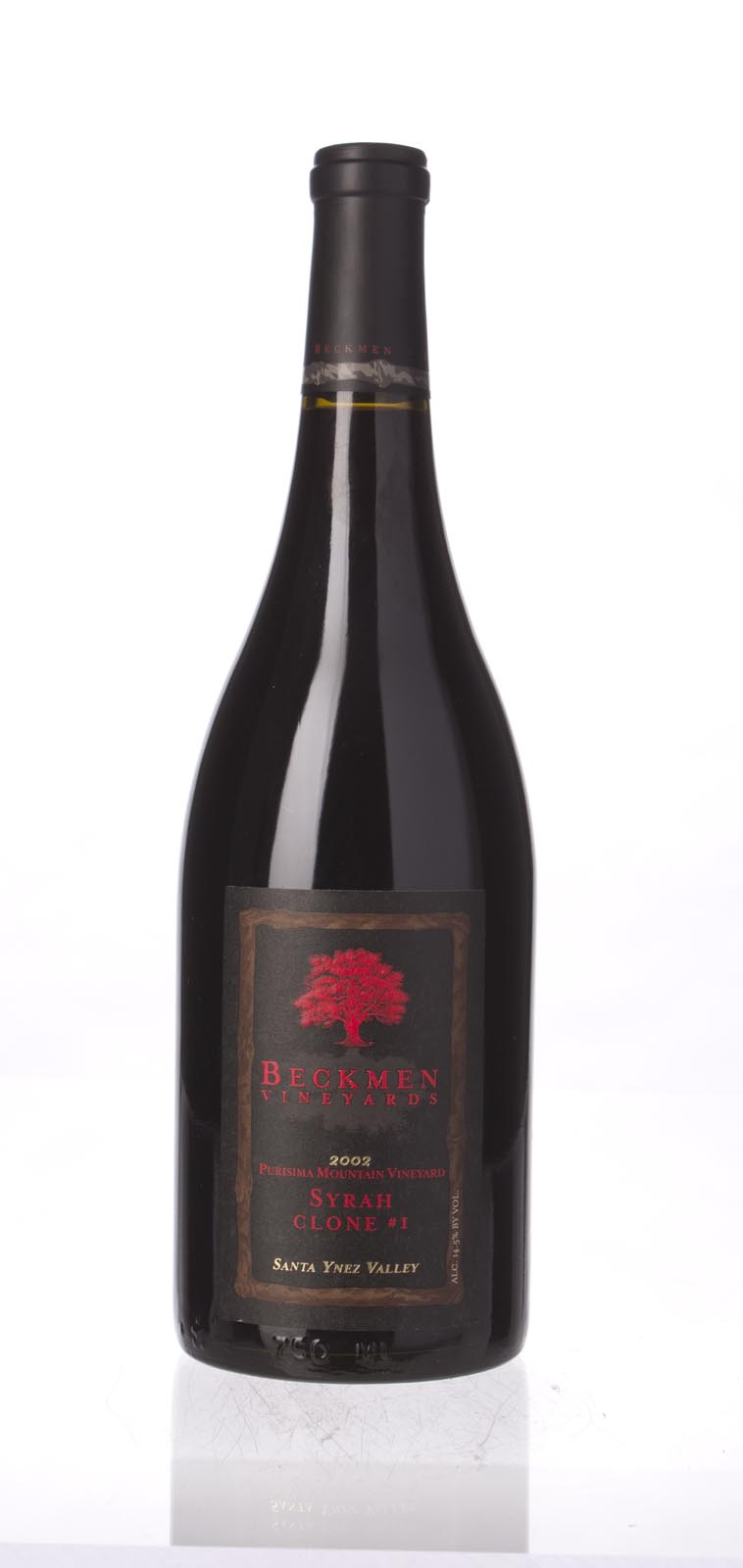 Beckmen Vineyards Syrah Purisima Mountain Vineyard Clone #1 2002, 750mL (WA93) from The BPW - Merchants of rare and fine wines.