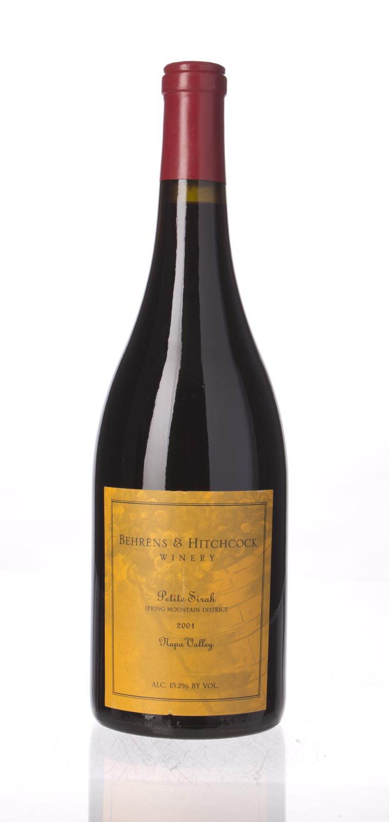 Behrens & Hitchcock Petite Sirah Spring Mountain 2001, 750mL () from The BPW - Merchants of rare and fine wines.